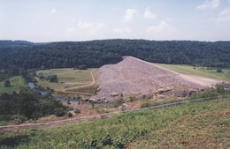 Jadwin Dam, completed in 1960, consists of a single purpose flood control reservoir formed by a dam on Dyberry Creek, located approximately three miles above the confluence of Dyberry Creek with Lackawaxen River, in Honesdale, Pa.