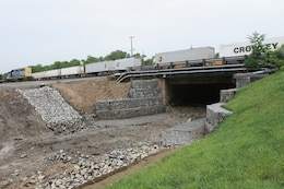 Work on the upper reach of Little Mill Creek was completed in 2007 and included channel improvements from the Kirkwood Highway Bridge to the CSX Wilsmere Railroad Yard Bridge. Work on the lower reach will consist of deepening and widening the existing channel to increase flow capacity and reduce flood damages to more than fifty businesses and commercial properties along Germay and Brookside Drives.