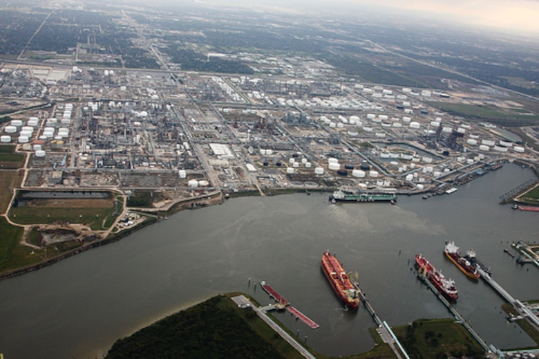 The Houston Ship Channel