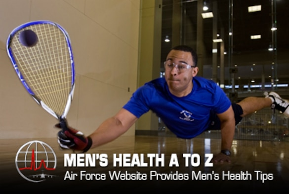 The Air Force Center of Excellence for Medical Multimedia Men's Health website http://www.menshealthatoz.org/ offers a guide to prostate health and various conditions that can affect the health of men.  It provides a sensitive and informative exploration of men's health issues, including benign prostatic hyperplasia (BPH), a condition which involves an enlarged prostate.  The program details information covering risk factors, symptoms, diagnosis, treatment, side effects of treatment and life after treatment.  (AF graphic by Steve Thompson)