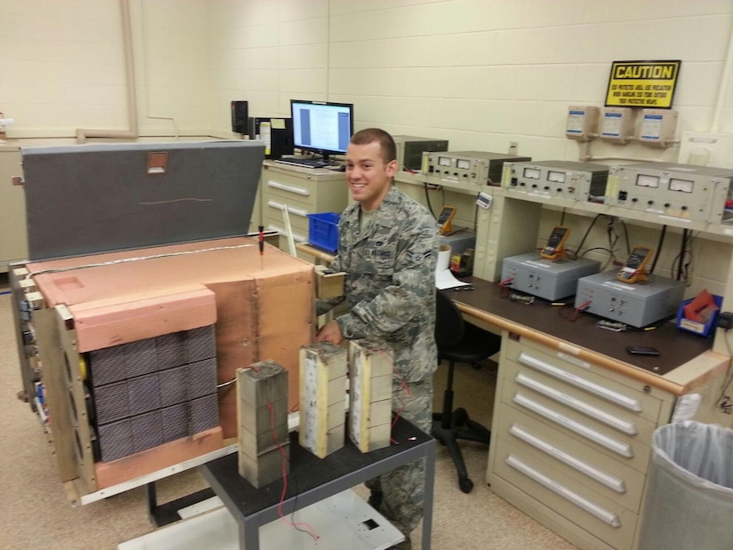 Airman 1st Class Andrew Desrosiers, 437th Maintenance Squadron Electro-Environmental systems apprenticewas recently named the 437th Airlift Wing Airman of the Week and will be go on to compete at the Air Mobility Command level. Desrosiers conducts C-17 Globemaster III Home Station Check inspections and in-shop repairs of various aircraft components to include batteries, refrigerators, ovens and lights. He  maintains 23 liquid oxygen carts within the ELEN aerospace ground equipment section. Desrosiers also repaired 13 line replaceable units, providing the Air Force with $259,000 in serviceable assets. He also accomplished three major HSC inspections, correcting more than 270 electrical and environmental discrepancies. Additionally, Desrosiers was a key member of a Flotation Equipment Deployment System replacement team which successfully removed and replaced 32 pyrotechnic charges in less than 10 hours, beating the standard time by an astonishing six hours.  His hard work and consistent ability to perform at high levels have made him vital to the ELEN section's success.  He is a true example of the professional and hard working Airmen that enable the 437th Airlift Wing to provide safe, precise, reliable aircraft worldwide. (Courtesy photo)