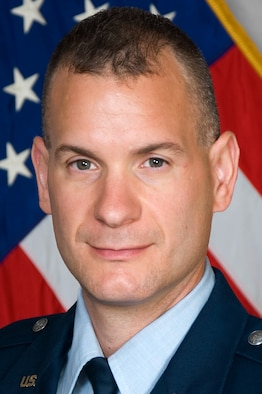 Maj. Robert Prausa, 71st Security Forces Squadron commander