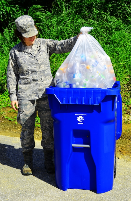 Refuse, recycling policy changes begin Oct  1 for DoD Family