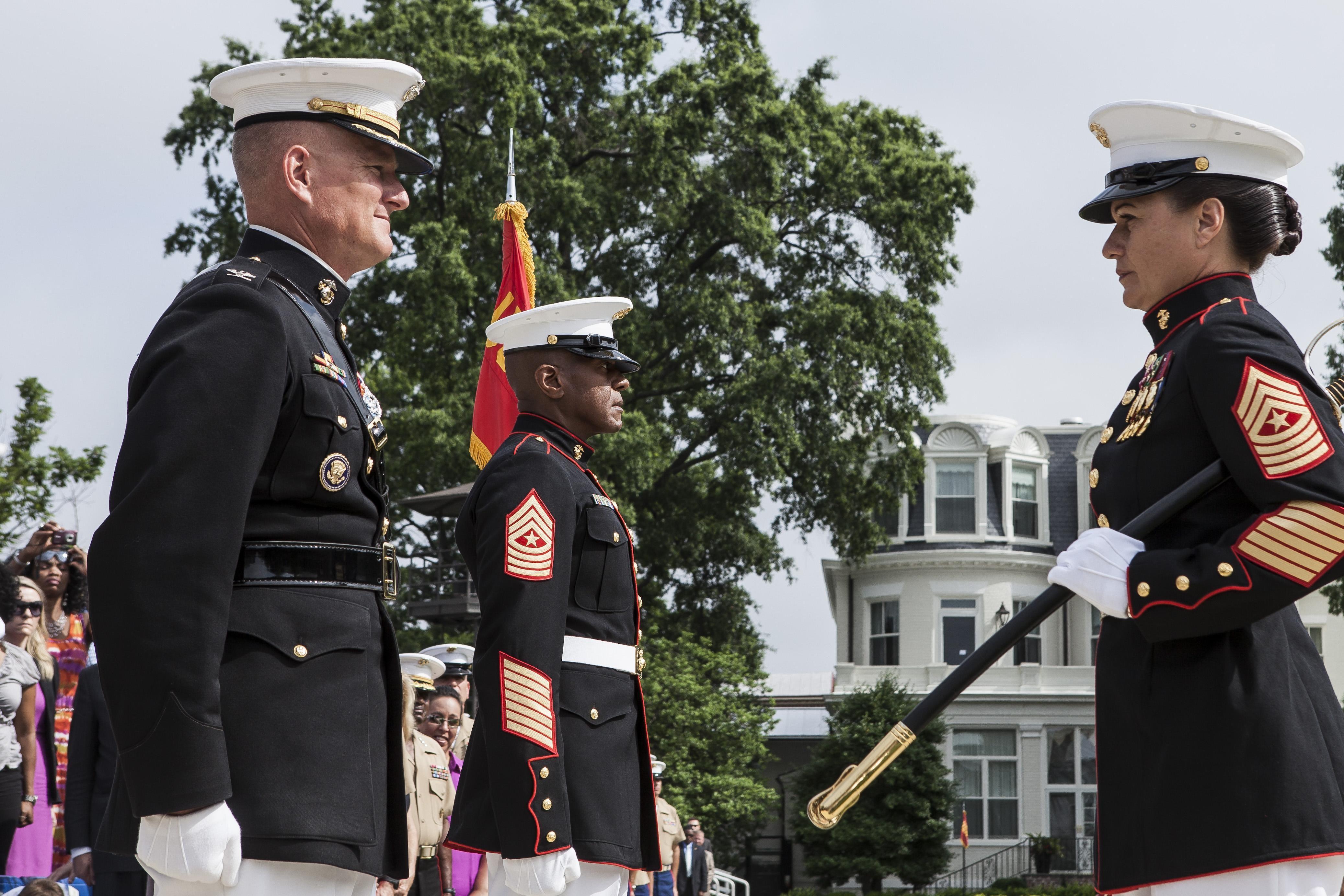 Marine corps evening dress uniforms