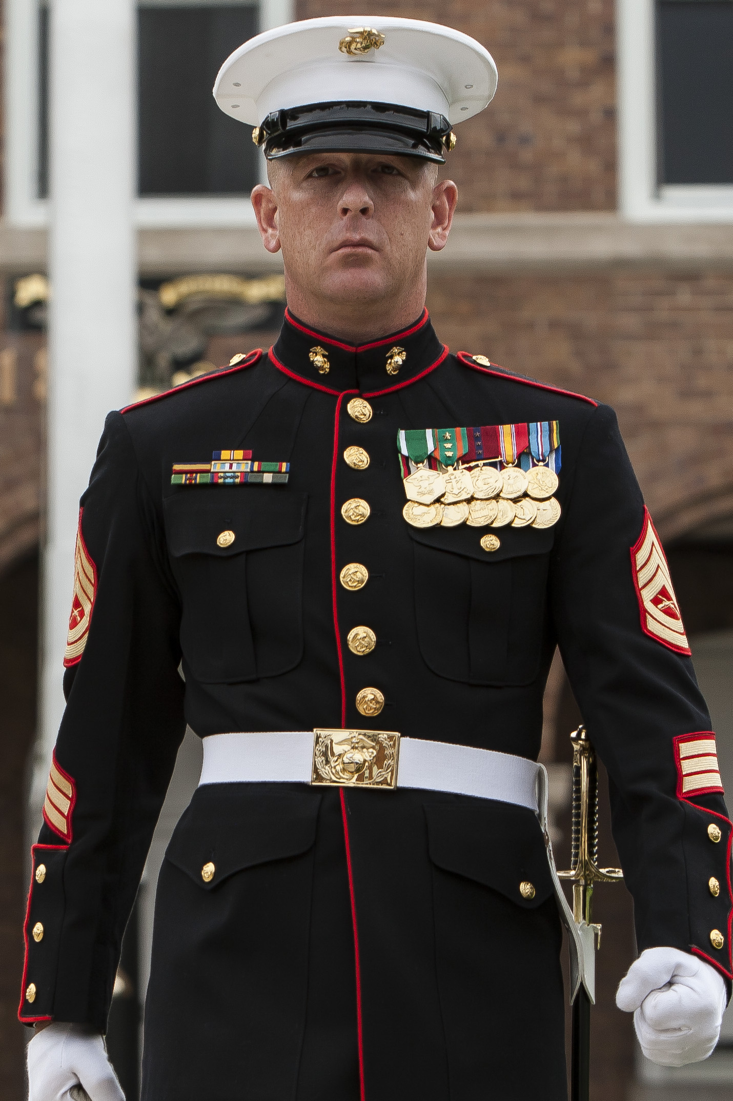 how to become sergeant major of the marine corps