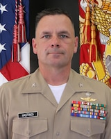 Col. Eric Hastings, commanding officer, 12th Marine Corps District