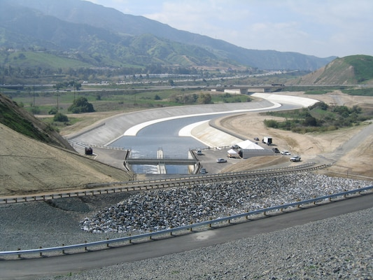 Improvements to Prado Dam outlet works and channel are one of the many projects in the Santa Ana River watershed that have resulted from the coordinated efforts of federal, state and local agencies, along with private organizations and the public.