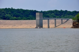 The tower at Taylorsville Lake, Taylorsville, Ky.