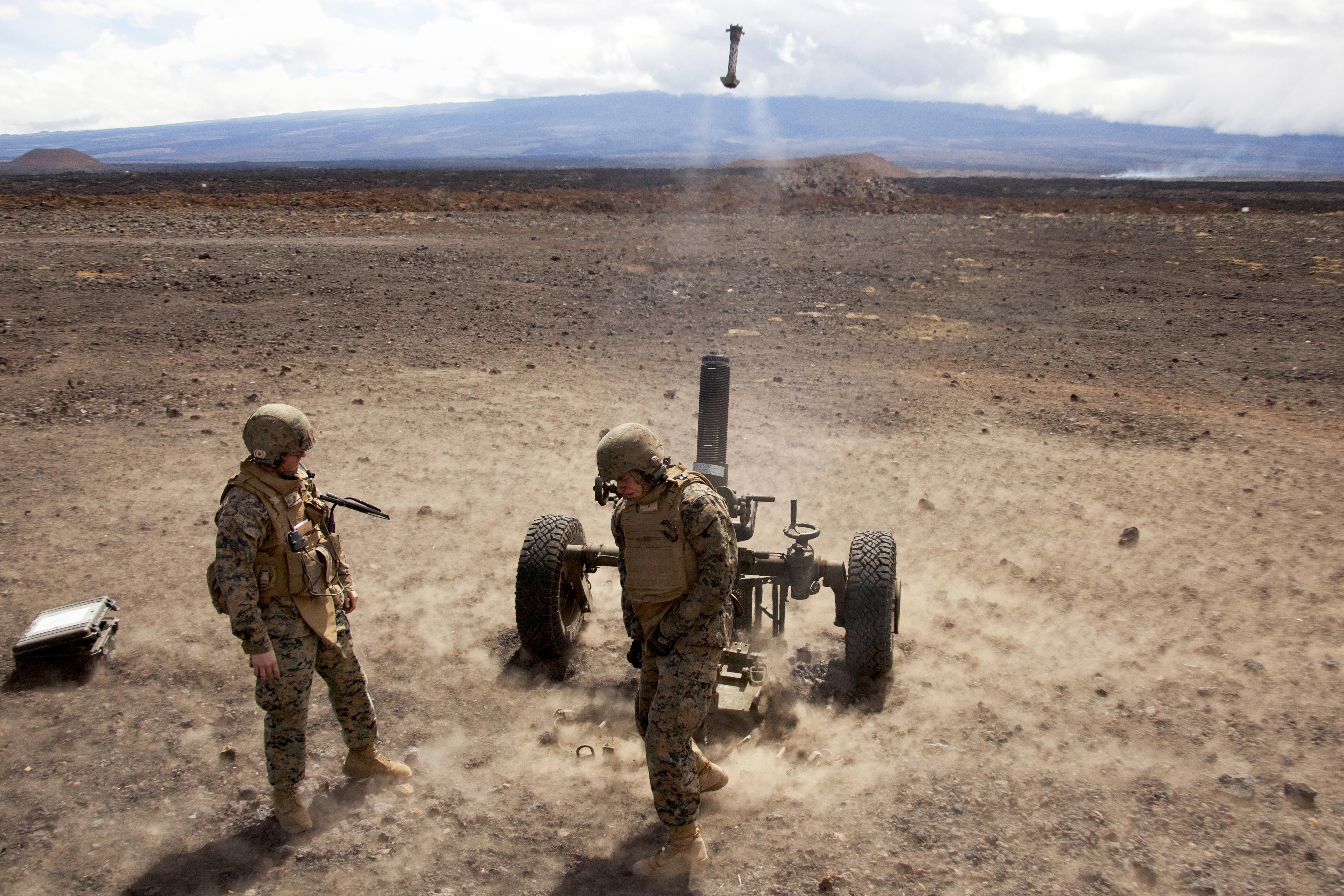 Mortar In Field : Marines photos