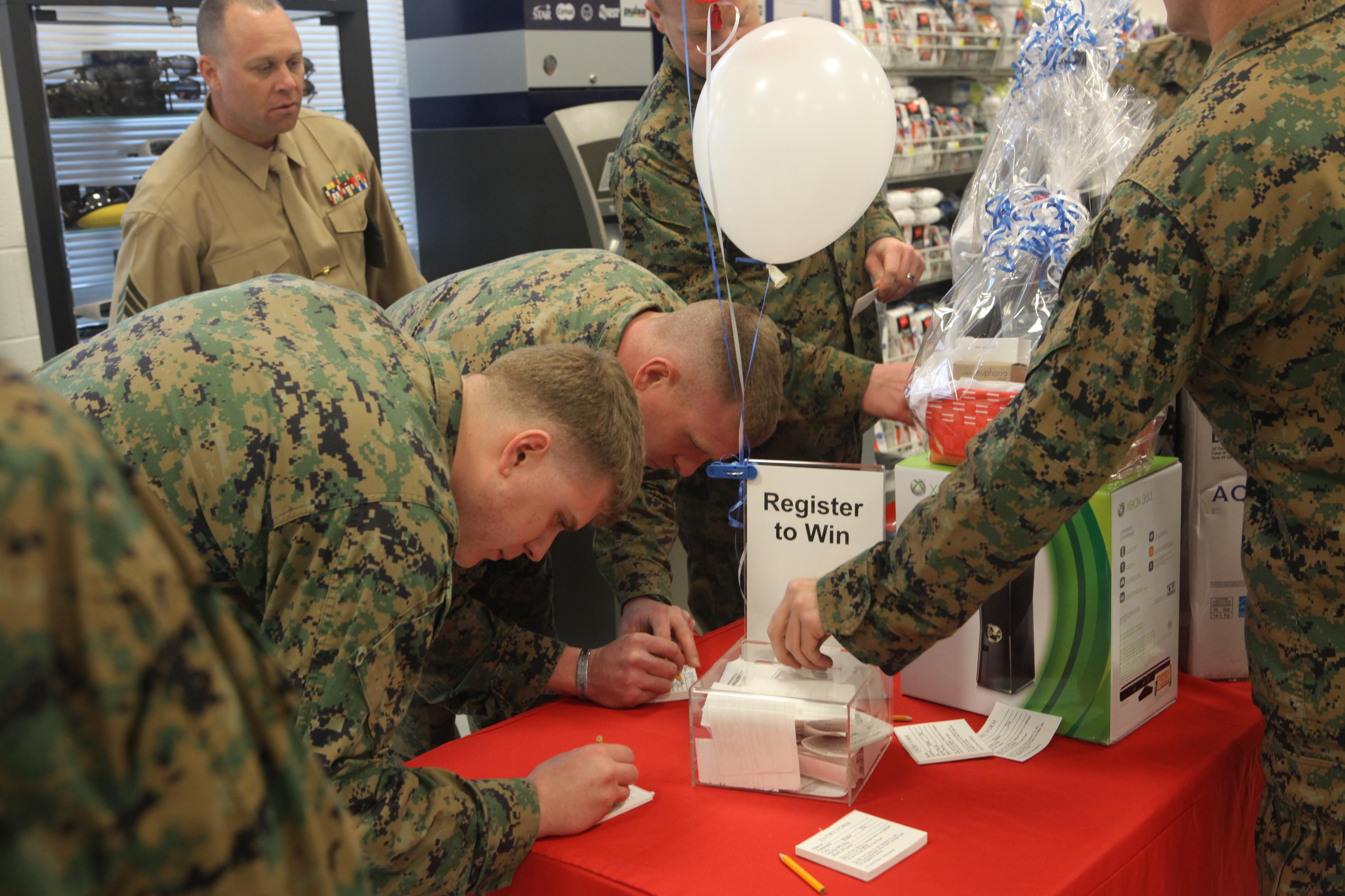 Marine mart grand opening aboard Stone Bay > Marine Corps ...