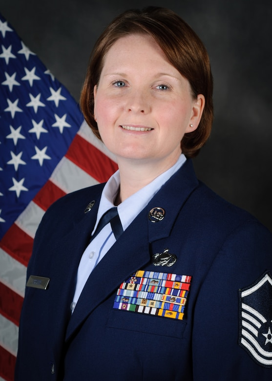 Master Sgt. Sharon Foster has been named the Kentucky Air National Guard's 2013 Airman of the Year in the senior non-commissioned officer category. Foster is the non-commissioned officer in charge of force management for the 123rd Force Support Squadron. (Kentucky Air National Guard photo by Master Sgt. Phil Speck)