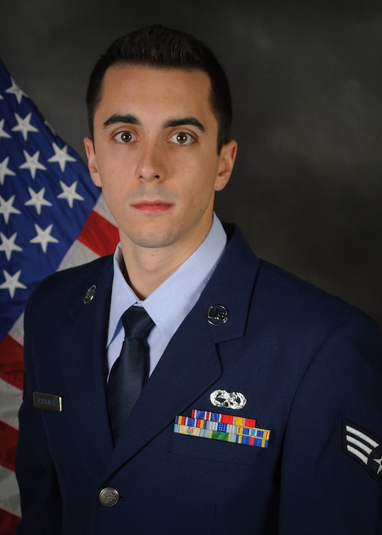 Senior Airman Vincenzo Lafronza has been named the Kentucky Air National Guard's 2013 Airman of the Year in the Airman category. Lafronza is a C-130 crew chief for the 123rd Aircraft Maintenance Squadron. (Kentucky Air National Guard photo by Master Sgt. Phil Speck)