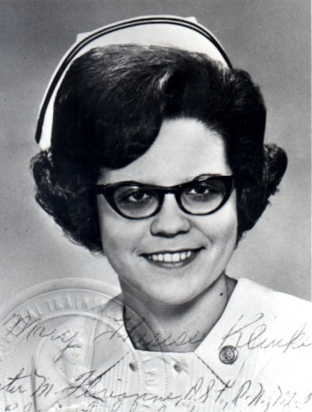 Capt. Klinker was 27-years-old when she died April 4, 1975 when the first aircraft supporting Operation Babylife crashed. Klinker was the last nurse and the only member of the Air Force Nurse Corps to be killed in Vietnam. Capt. Mary T. Klinker was posthumously awarded the Airman's Medal for Heroism and the Meritorious Service Medal.