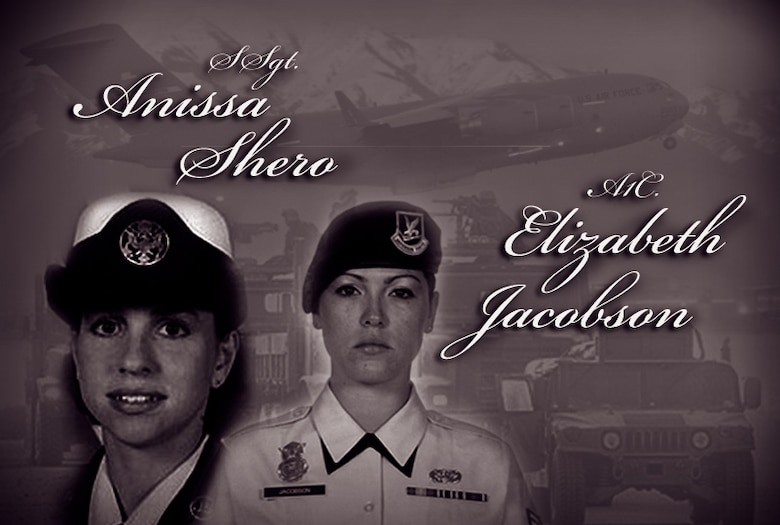 Staff Sgt. Anissa Shero and Airman 1st Class Jacobson
