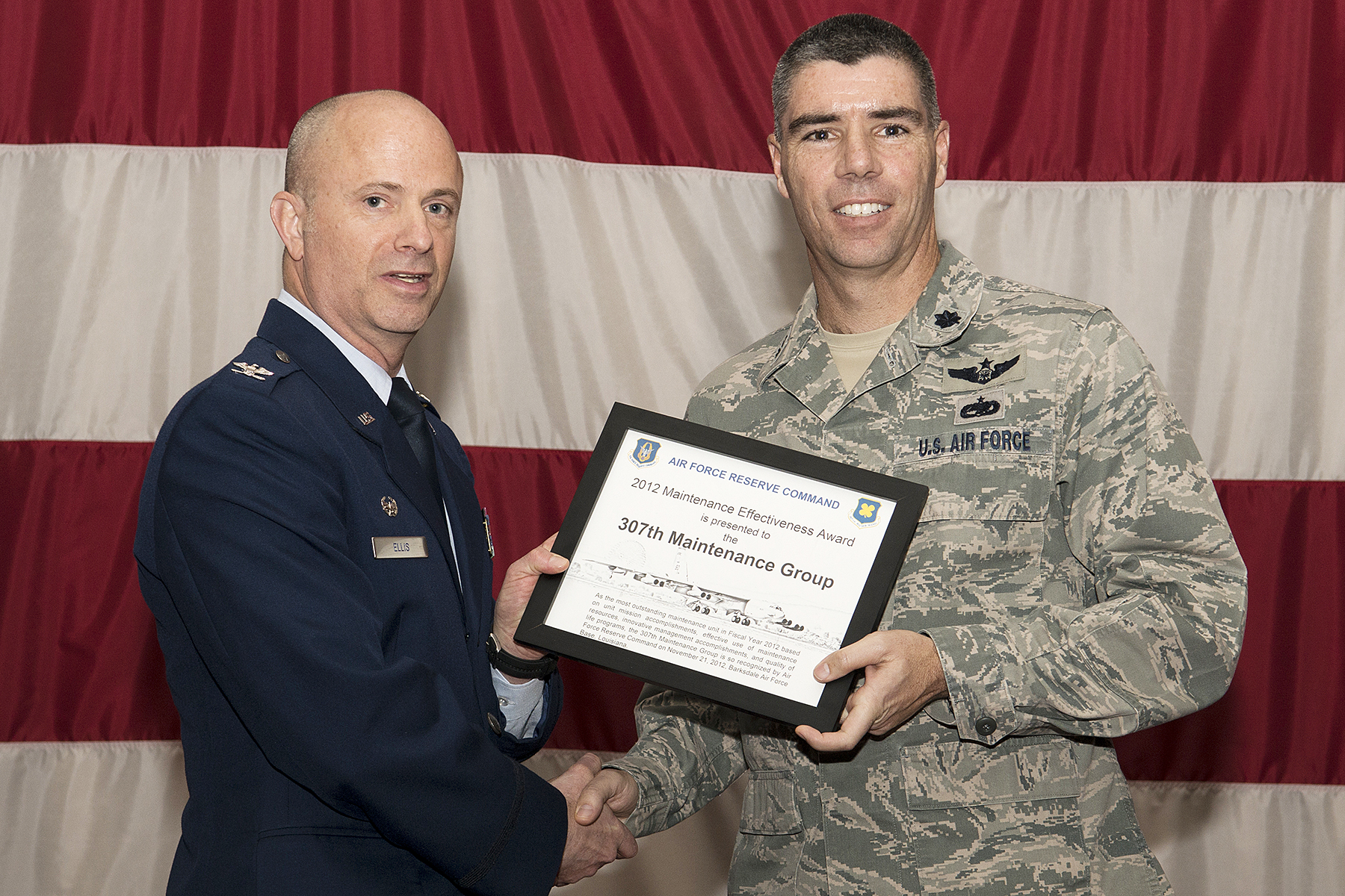 Wing achievements highlighted during March Commander's Call