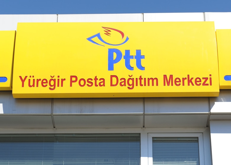 The Post, telephone and telegraph (Ptt) facility located on the D400 is the most convenient location to purchase a Hizli Geçis Sistemi (HGS) toll card sticker, which is necessary to pay for tolls when driving on the Autobahn in Turkey. To assist in obtaining the sticker, the Community Center offers a shuttle to the facility on Thursdays for a nominal fee. (U.S. Air Force photo by Staff Sgt. Marissa Tucker/Released)