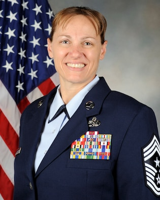 Chief Master Sgt. Wendy A. Hansen, 92nd Air Refueling Wing command chief