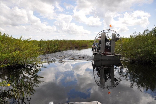 After inspecting the channel at Cowbone Marsh, Regulatory Division issued a cease and desist order, requiring the Florida Fish and Wildlife Commission to stop sidecasting dredged material into the channel.