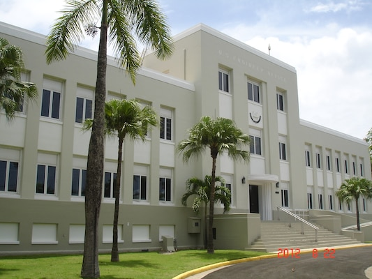 U.S. Army Corps of Engineers, Jacksonville District's Antilles Office, San Juan, Puerto Rico.