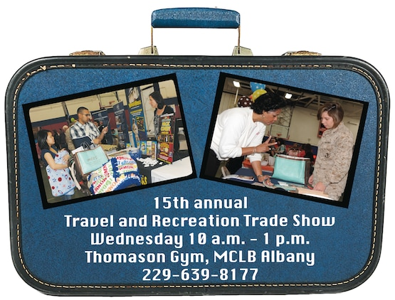 Vacationers, who are planning an ultimate summer trip or a spur-of-the-moment getaway, can get a head start at Marine Corps Community Services' Information, Tickets and Tours' 15th annual Travel and Recreation Trade Show at Thomason Gymnasium here, Wednesday from 10 a.m. - 1 p.m.