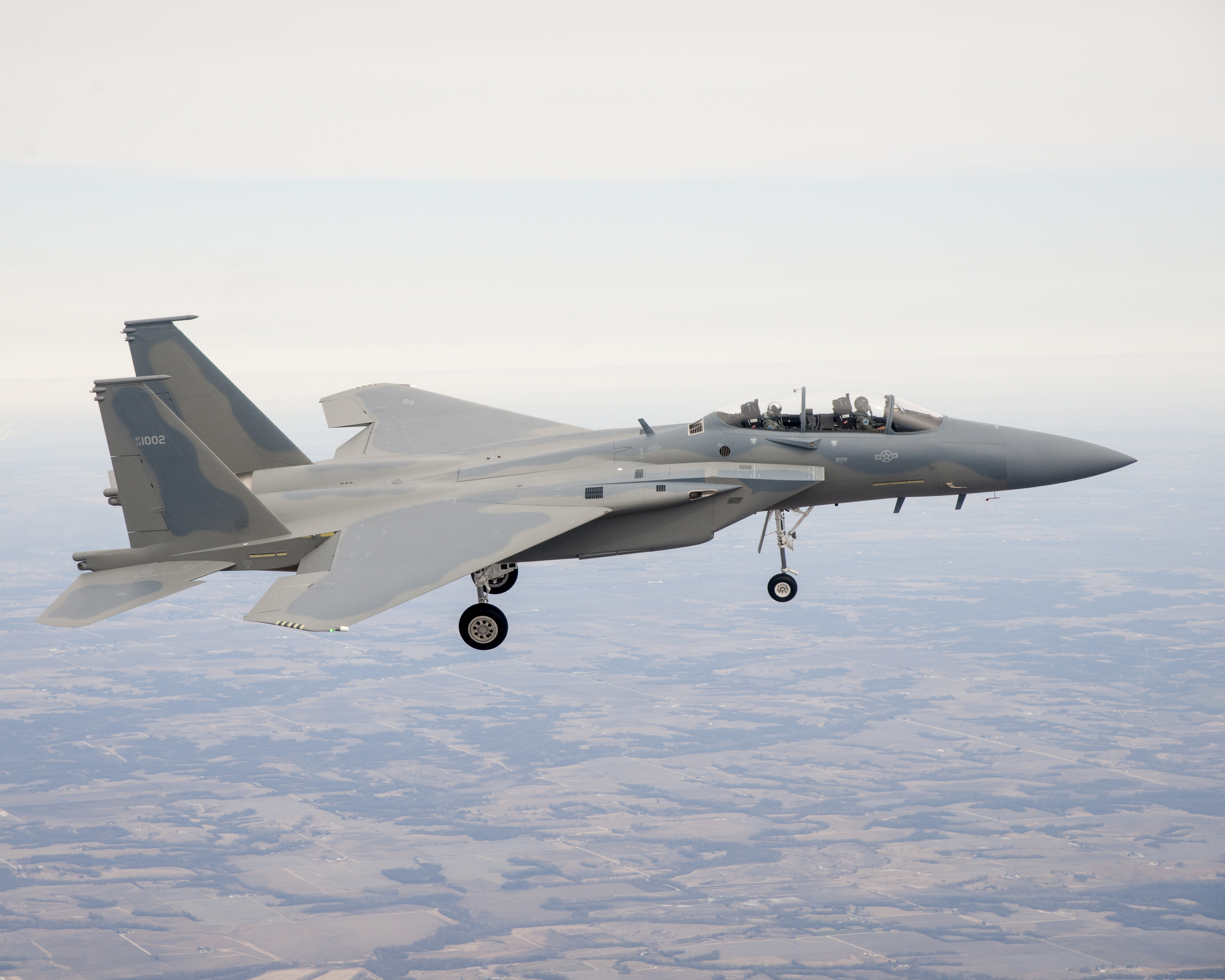 Fly-By-Wire F-15SA makes first flight > Wright-Patterson AFB ...