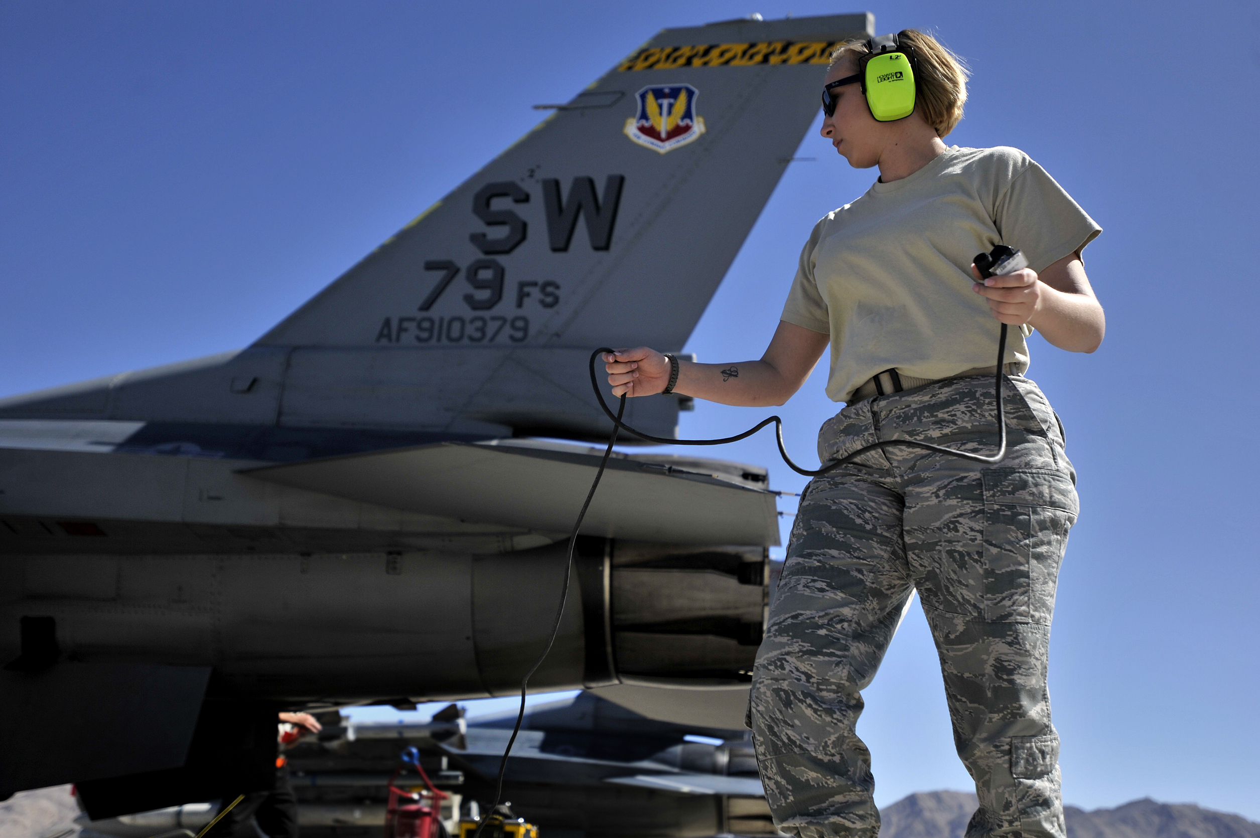 crew chief air force