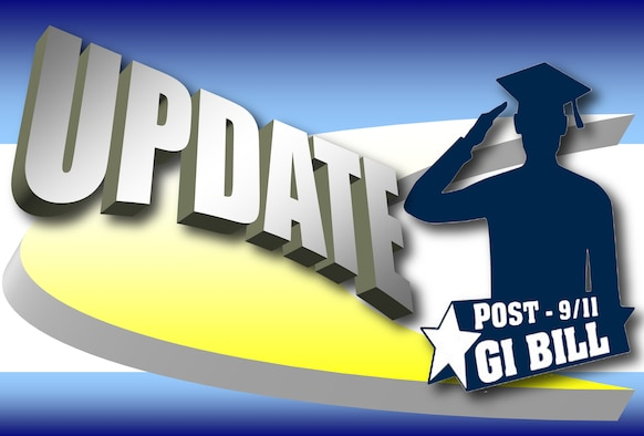 Post 9/11 GI Bill Update (U.S. Air Force graphic/Staff Sgt. Luis Loza Gutierrez)