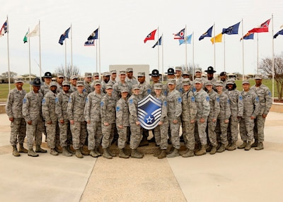 Fifty seven selected for senior master sergeant joint for Air force decoration points