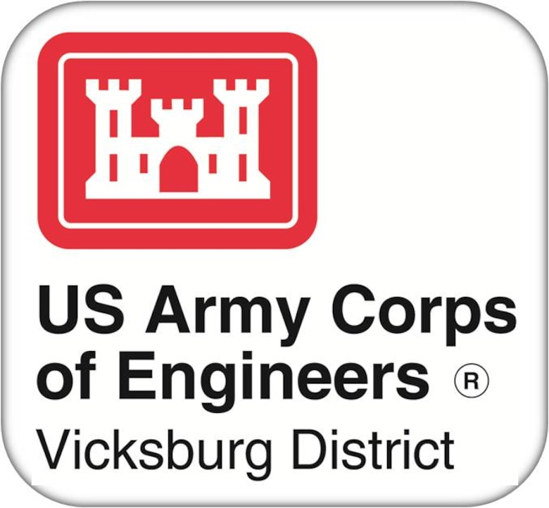 The Vicksburg District encompasses a 68,000-square-mile area across portions of Mississippi, Arkansas, and Louisiana that holds seven major river basins and incorporates approximately 460 miles of mainline levees. The district is engaged in hundreds of projects and supports disaster response in Mississippi, Louisiana, and Tennessee.