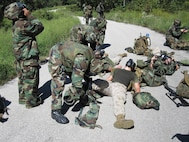 Casualty Evacuation Training