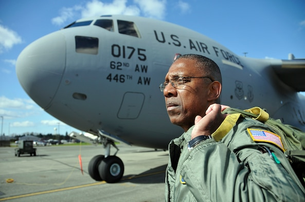 Senior Master Sgt. Terry Philon (pictured above), the 313th Airlift Squadron chief loadmaster out of McChord Field, Wash., entered the military in 1972. During his 41 years of service, he has supported contingencies such as the evacuation of the American hostages in Iran in 1981, Operations Just Cause, Provide Hope, Desert Shield, Desert Storm, Iraqi Freedom, New Dawn, Enduring Freedom, and Deep Freeze. He is set to retire from the Air Force Reserve in December, right before his 60th birthday. (U.S. Air Force photo/Master Sgt. Jake Chappelle)