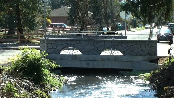 The Portland District and city of Portland are partnering to restore fish passage through Crystal Springs Creek. The Corps is installing wider, natural bottom culverts, a key element of recovery of endangered juvenile salmon and trout species.