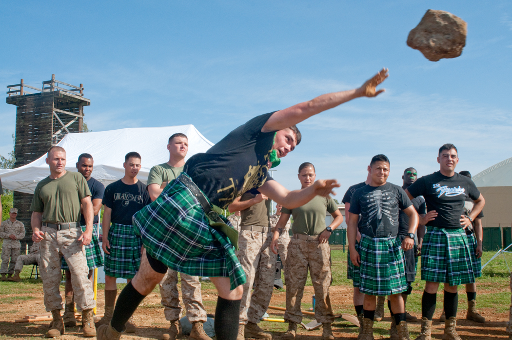 CLB-3 engineers bring Highland games to Hawaii > Marine Corps Base Hawaii > News Article Display