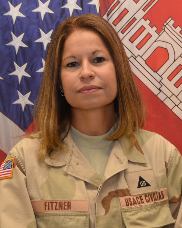 April Fitzner, from the Albuquerque District, currently serves as the Afghan National Police (ANP) program manager in the Corps' Transatlantic District - North.