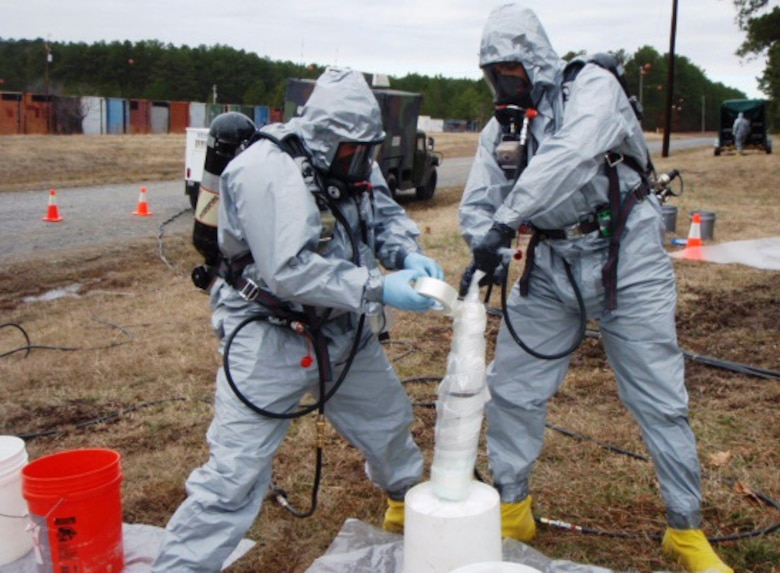A Huntsville Center survey team of prove it could operate in accordance with the approved Work Plan and Chemical Site Plan for the Pine Bluff Arsenal Remedial Investigation and Feasibility Study before proceeding.