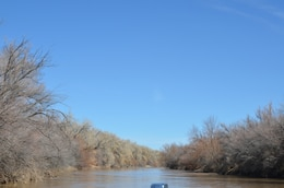 The Rio Grande, north of Socorro, N.M., March 11, 2013.
