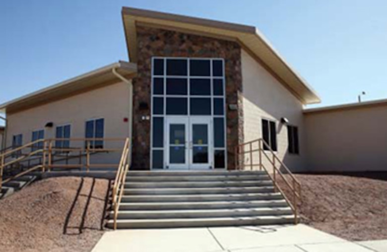 An outpatient clinic on  Fort Huachuca, Ariz. This facility was a project of the Medical Repair and Renewal Program.