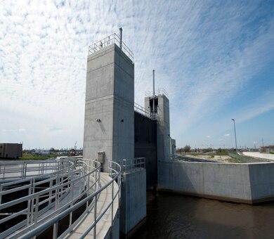 Seabrook Floodgate Complex