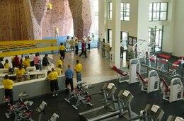 A modern fitness center built with the support of Huntsville Center's Center of Standardization.