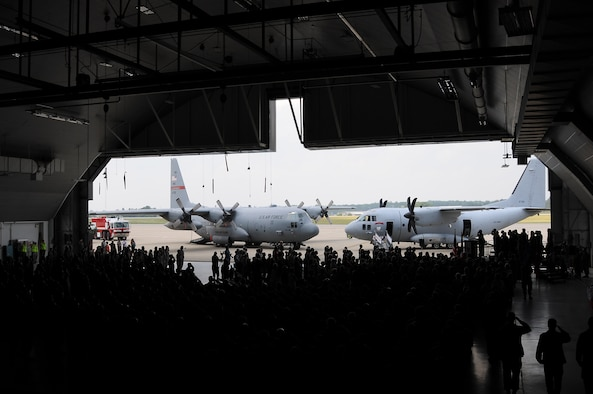 In August 2010, the 179th Airlift Wing, Mansfield Lahm Airport, Mansfield, Ohio changed aircraft to the C27J Spartan Joint Cargo Aircraft. Recent announcement by the Secretary of the Air Force states all four C-27J Spartan aircraft that was received will be divested from Mansfield, while eight C-130H Hercules will be fielded. (U.S Air Force photo by SrA Joseph Harwood) (RELEASED BY Capt. Nicole Ashcroft)