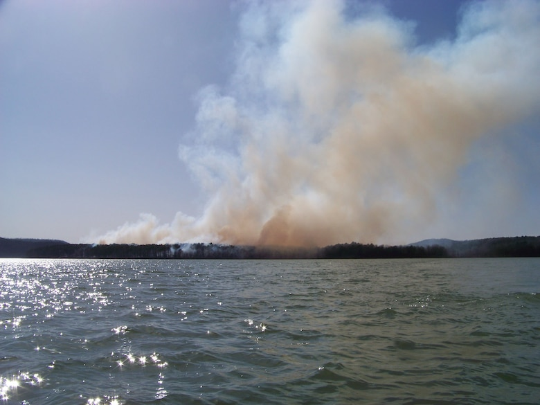 The Army Corps of Engineers Greers Ferry Project Office personnel in coordination with the Arkansas Forestry Commission and other state agencies will conduct prescribed burns in and around Greers Ferry Lake park areas when weather conditions are favorable during the next several months.
