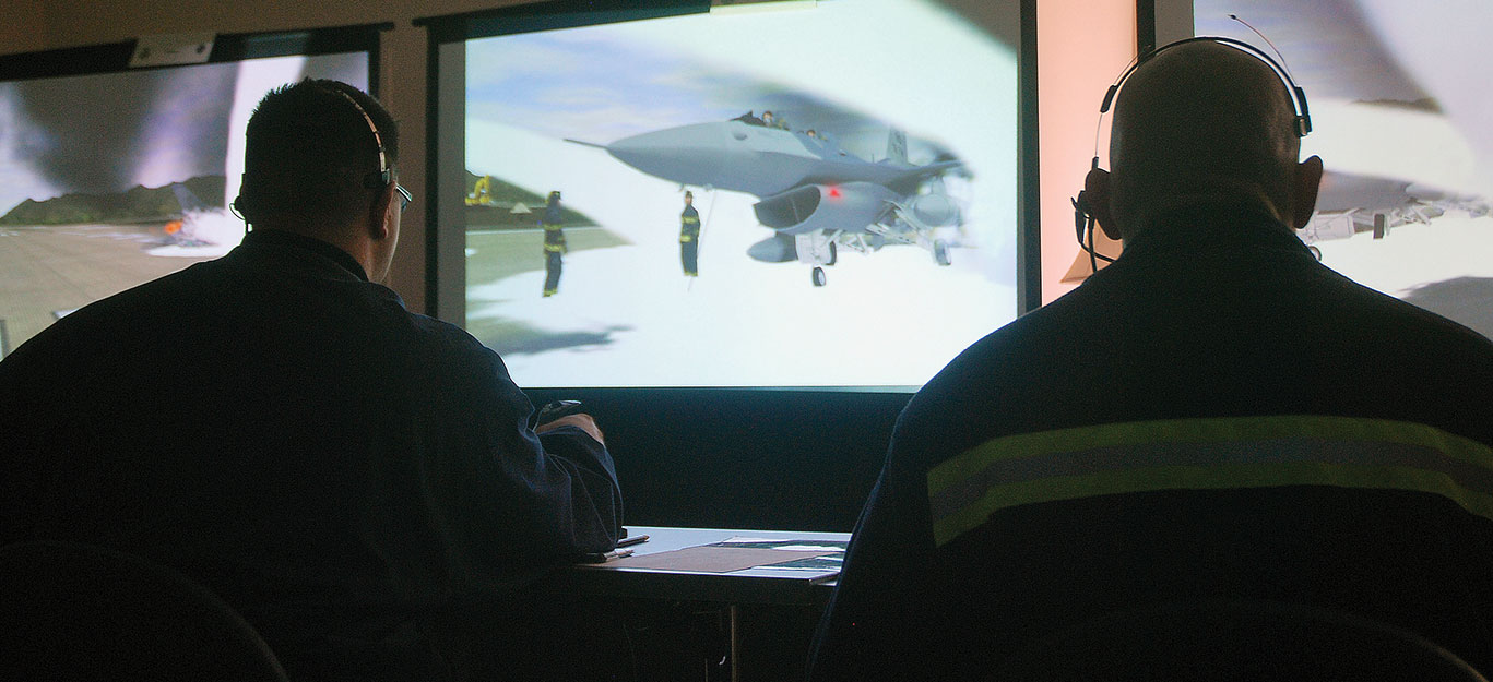 New fire training simulator debuts at Fort Riley > Goodfellow Air