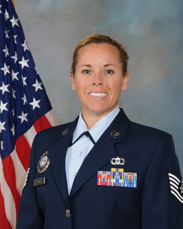 The 161st Air Refueling Wing welcomes new production recruiter Tech. Sgt. Jamie Snider. Sergeant Snider says she's blessed to be offered the recruiter position and feel that she is able to influence the future of the Air National Guard and the high caliber of people we hire. (U.S. Air National Guard photo by Master Sgt. Kelly Deitloff/Released)