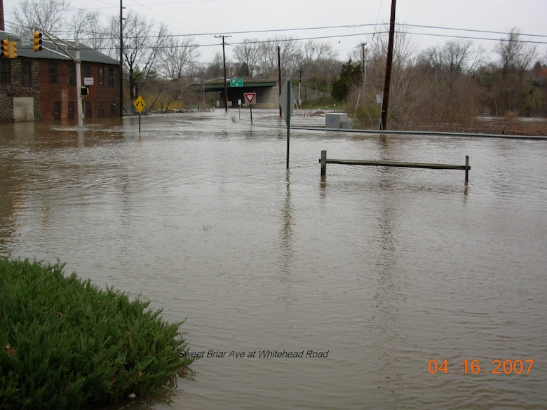 Hamilton Township along Assunpink Boulevard, Sweet Briar Avenue, Rutgers Avenue and Carnegie Avenue on the Assunpink Creek has experienced frequent flooding and environmental degradation.