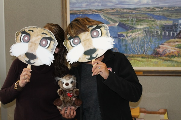 These Otter spotters have fun while promoting water safety during the Third Annual Otter Spotter Day to kick off National Water Safety Month.