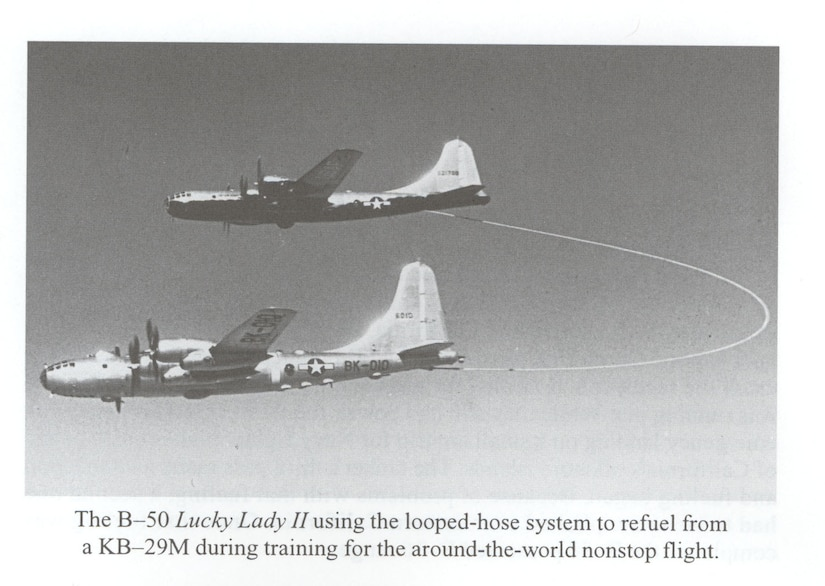 From the AFHSO publication: 75 Years of Inflight Refueling by Richard K. Smith.