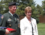 Army Lt. Gen.and Mrs. Edward G. Anderson III
