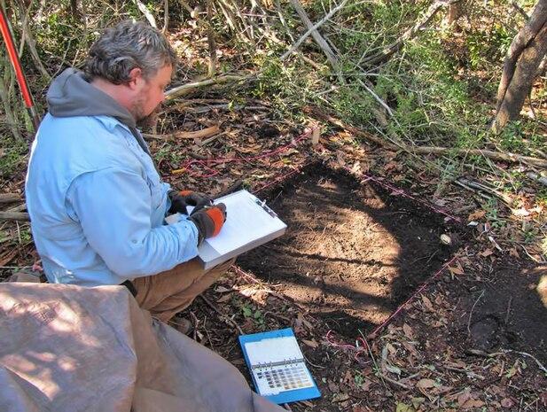 Phase II archaeological testing aboard Marine Corps Base Camp Lejeune, N.C.