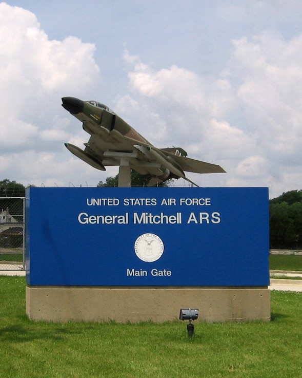 Former General Mitchell Air Reserve Station (GMARS), Wis. (U.S. Air Force Photo)