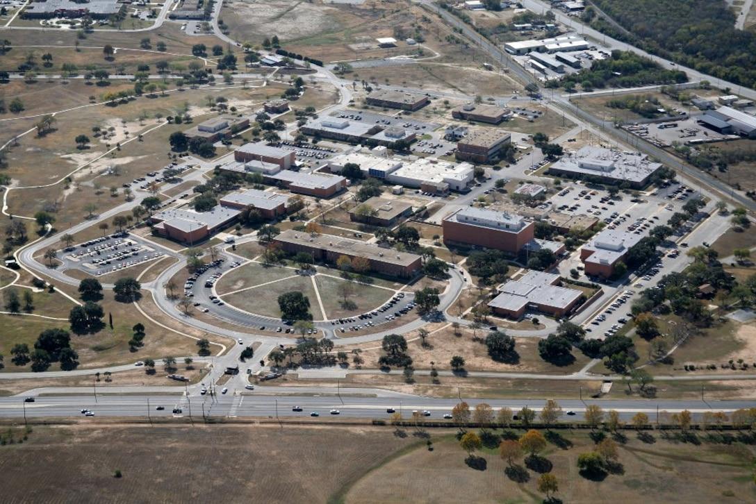 Former Brooks Air Force Base. (U.S. Air Force Photo)